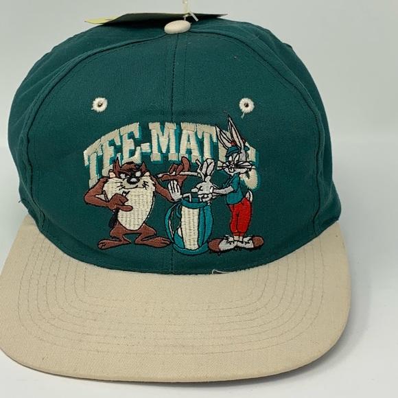 5d54322966b3b2 Looney Tunes Vintage hat green golf bugs bunny taz